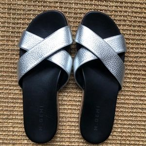 M. Gemi - The Pietra - Leather Pool Slides